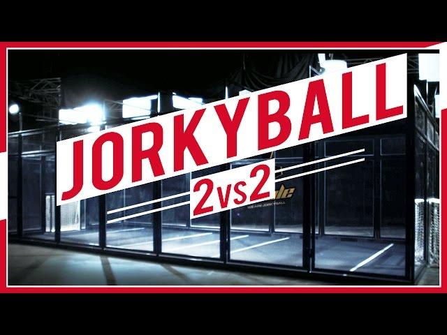 Le jorkyball ou jouer au football autrement