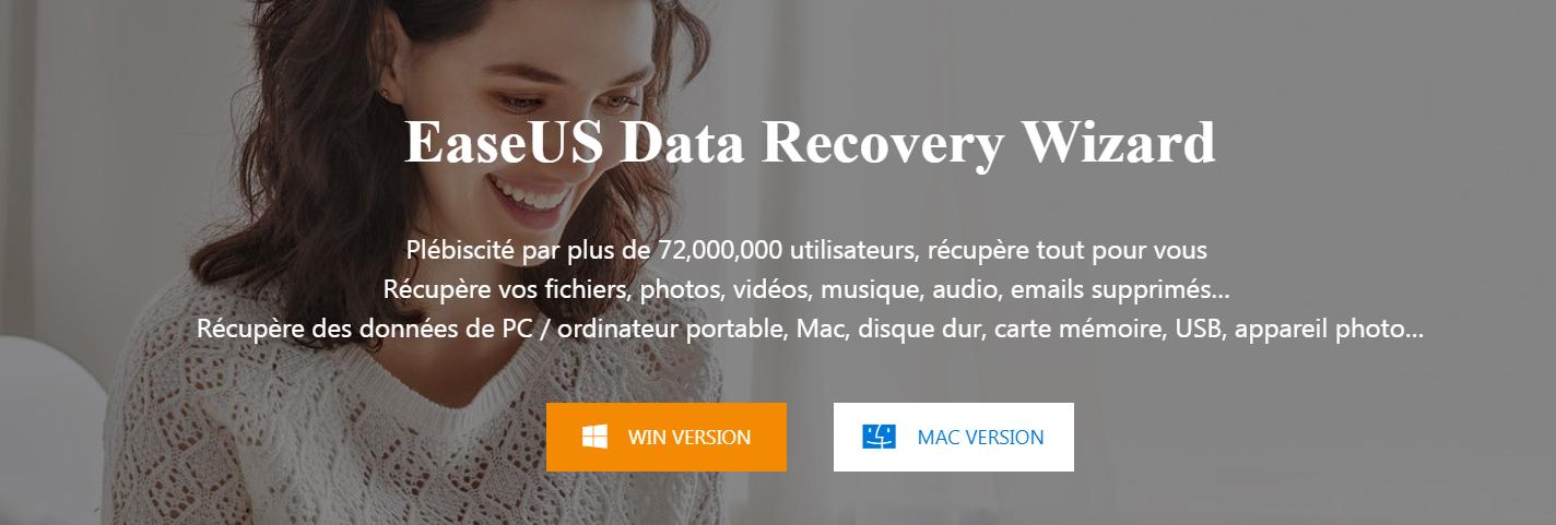 [Avis] EaseUS : La solution pour récupérer vos données supprimées !
