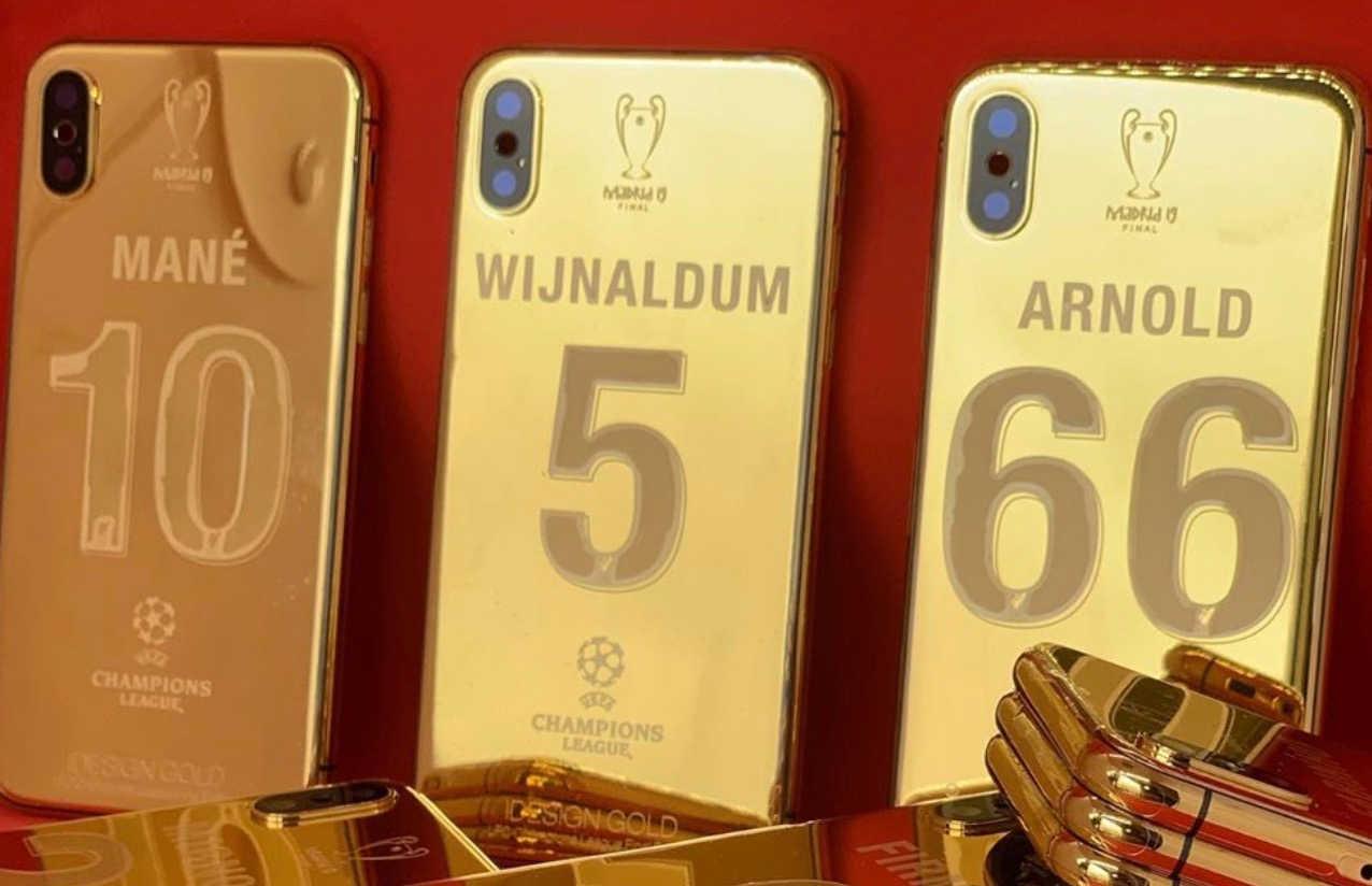 Des coques d'iPhone 24 carats à 4000 €