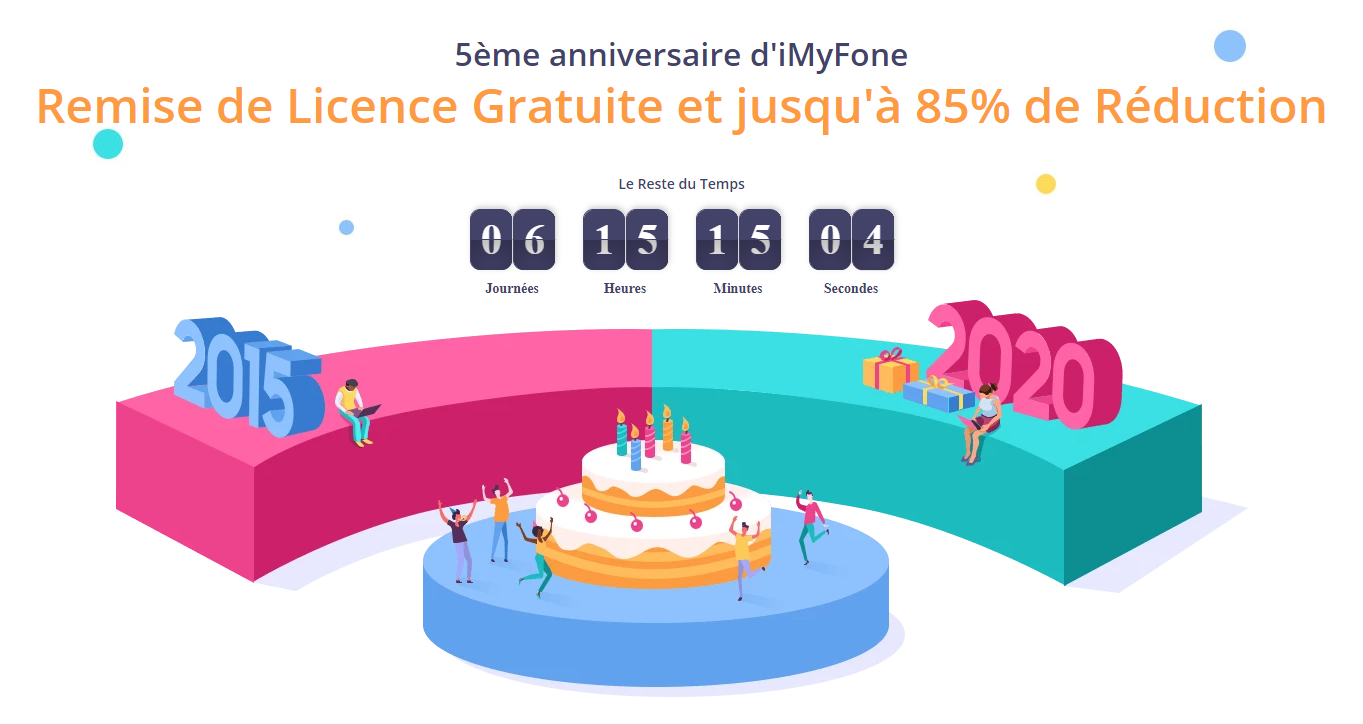 imyfone 5 ans promotion