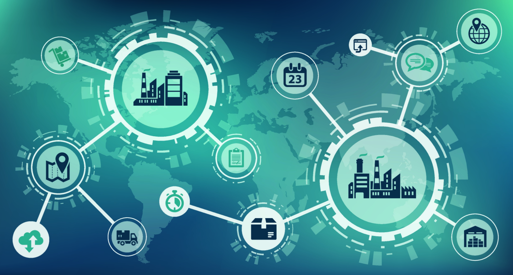 Les solutions logicielles de gestion Supply Chain